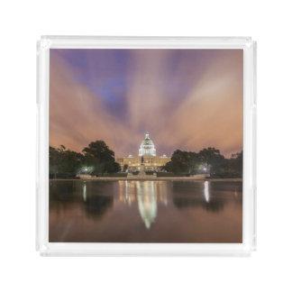Washington DC, Capitol Building Acrylic Tray