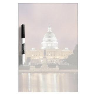 Washington DC, Capitol Building Dry Erase Board