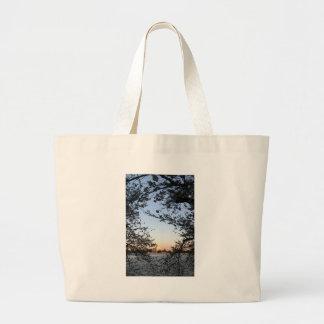 Washington DC Cherry Blossom Jumbo Tote Bag