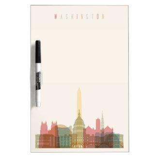 Washington, DC   City Skyline Dry-Erase Whiteboard