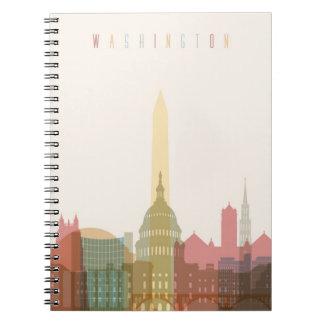 Washington, DC   City Skyline Notebooks