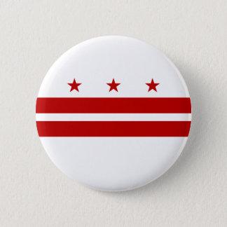 Washington DC Flag 6 Cm Round Badge