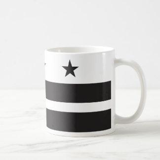 Washington DC Flag - Black Mug