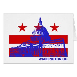 Washington DC Flag Cards