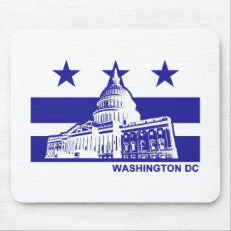 Washington DC Flag Mouse Pad