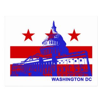 Washington DC Flag Post Cards