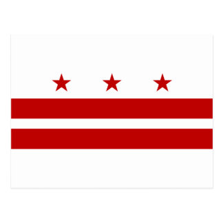 Washington DC Flag Postcard