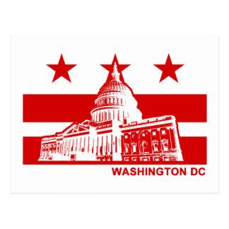 Washington DC Flag Postcard
