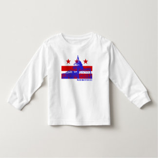 Washington DC Flag Toddler T-Shirt