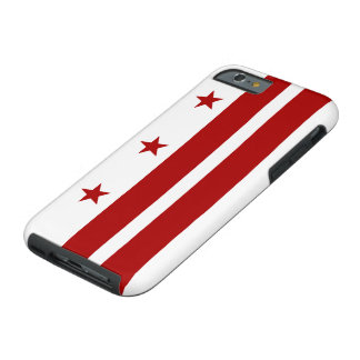 Washington DC Flag Tough iPhone 6 Case