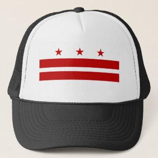 Washington DC Flag Trucker Hat