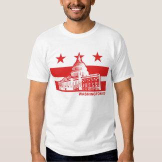 Washington DC Flag Tshirt