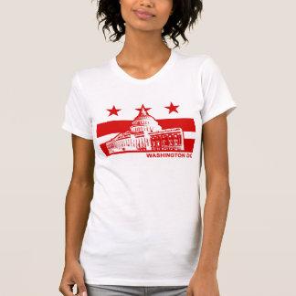 Washington DC Flag T Shirt