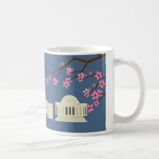 Washington, DC Hand Drawn Iconic Sights Mug