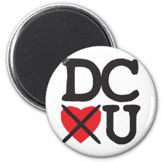 Washington DC Hates You 6 Cm Round Magnet