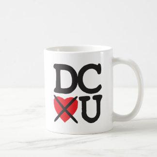 Washington DC Hates You Basic White Mug