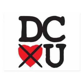 Washington DC Hates You Postcard