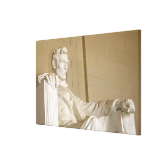 Washington, DC, Lincoln Memorial Stretched Canvas Print