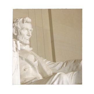 Washington, DC, Lincoln Memorial Notepad