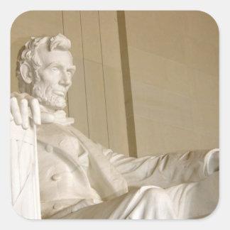 Washington, DC, Lincoln Memorial Square Sticker
