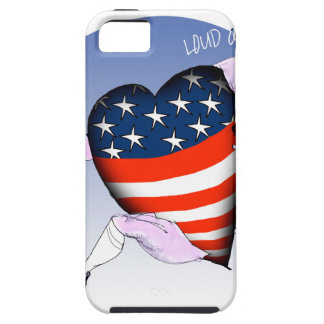 Washington DC loud and proud, tony fernandes Tough iPhone 5 Case