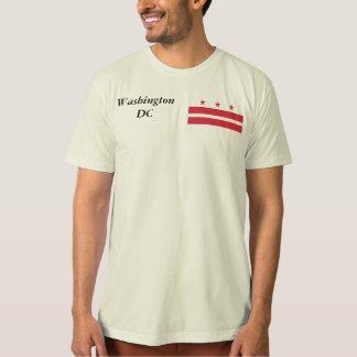 Washington DC  Map and Flag Tshirt
