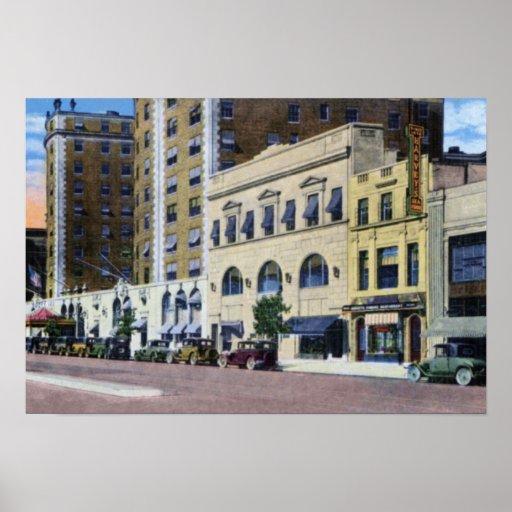 Washington DC Mayflower Hotel Poster
