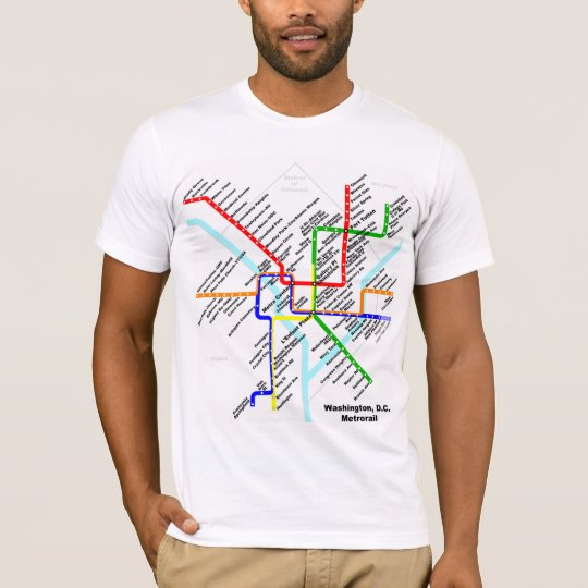 Washington dc metro Shirt