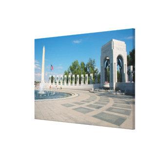 Washington, DC, National WWII Memorial Canvas Print