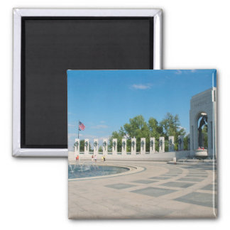 Washington, DC, National WWII Memorial Magnet