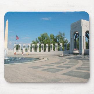 Washington, DC, National WWII Memorial Mouse Mat