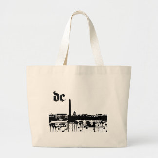 Washington DC put on for your city Large Tote Bag