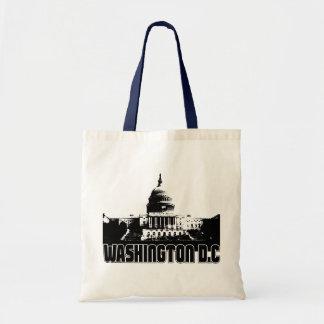 Washington DC Skyline Budget Tote Bag