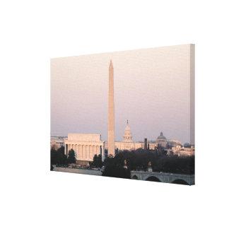 Washington, DC Skyline Canvas Print