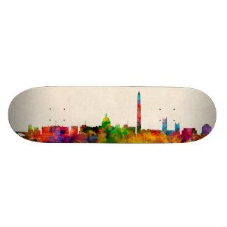 Washington DC Skyline Cityscape 20 Cm Skateboard Deck