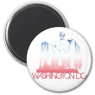 Washington DC Skyline Design 6 Cm Round Magnet