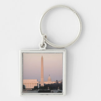 Washington, DC Skyline Key Ring