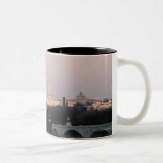 Washington, DC Skyline Two-Tone Coffee Mug