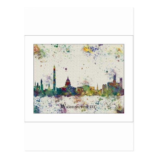 WASHINGTON DC skyline, Washington DC Print Postcard