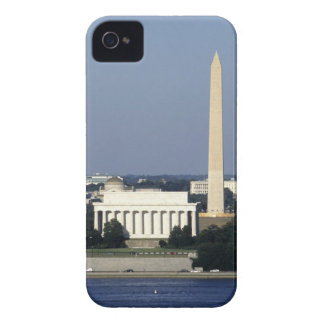 Washington DC Skyline with US Capitol Building 2 iPhone 4 Case