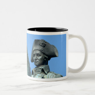 Washington, DC, statue of General George Two-Tone Coffee Mug