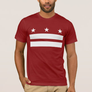 Washington DC t-shirt red