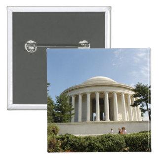 Washington, DC. Thomas Jefferson Memorial 15 Cm Square Badge