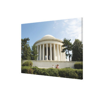 Washington, DC. Thomas Jefferson Memorial Gallery Wrapped Canvas