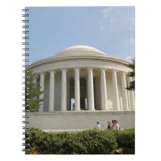 Washington, DC. Thomas Jefferson Memorial Notebook