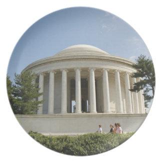 Washington, DC. Thomas Jefferson Memorial Plates