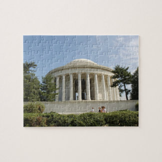 Washington, DC. Thomas Jefferson Memorial Puzzle