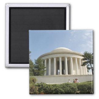 Washington, DC. Thomas Jefferson Memorial Square Magnet
