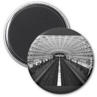 Washington Dc Train Station 6 Cm Round Magnet