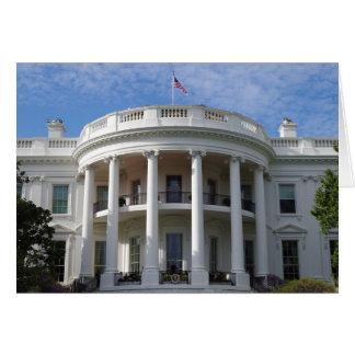 Washington DC White House Card